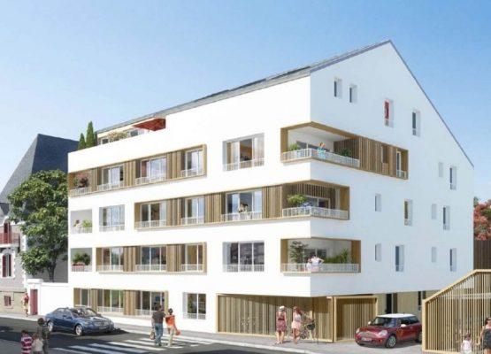 Construction en structure mixte béton / bois  (22 logements)