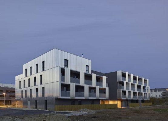 Construction en BBC (45 logements)