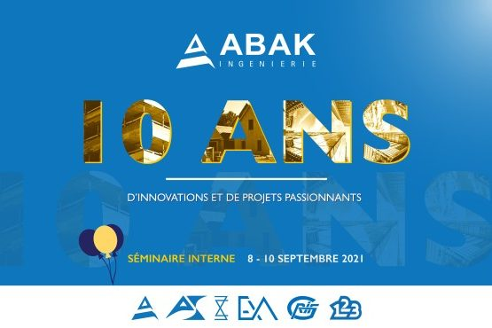 ABAK Ingénierie rassemble ses talents et souffle ses 10 bougies